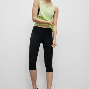 PARKLIFE FROM Aritzia Black Cropped Leggings
